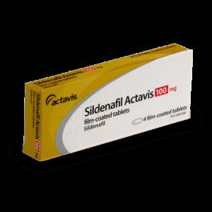 sidenafil actavis 100 mg